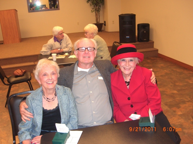 June McCann, John Cox, Mary Faux